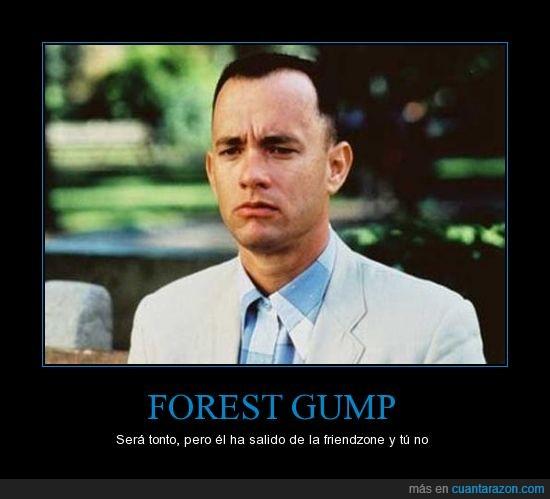 el elegido,forest,friendzone,gump,tom hanks,tonto