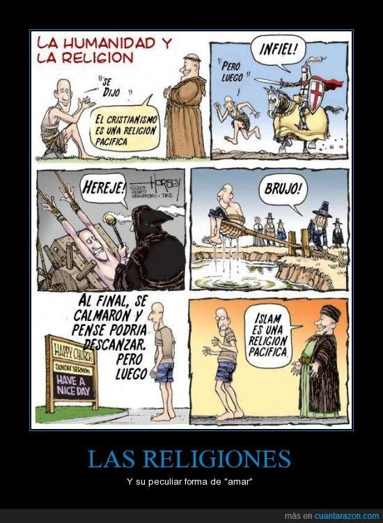 ateismo,caza de brujas,Cristianismo,cruzadas,Islam,tortura