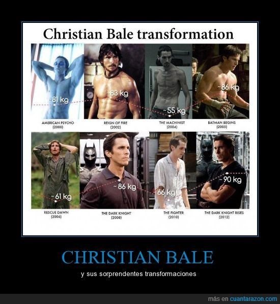 bale,batman,begins,christian,dark,dark knight,machinist,night,psycho,rescue dawn,rises,sorprendente fighter,transformación