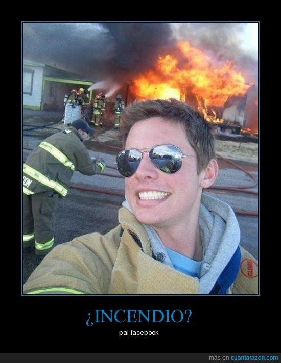 bombero,facebook,foto,fuego,gafas,incendio,sol,tuenti