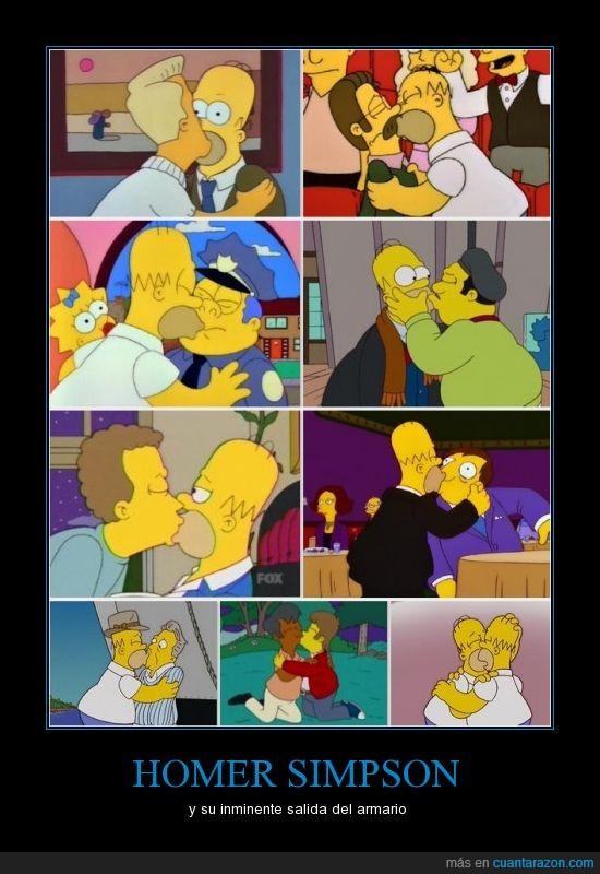 alcalde,apu,beso,hombre,homer,homosecual,mismo,quimby,simpson,wiggum