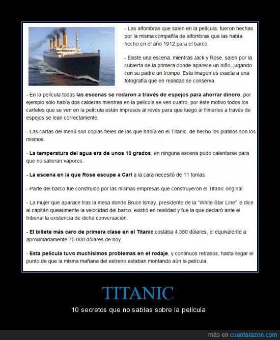 curiosidades,secreto,Titanic
