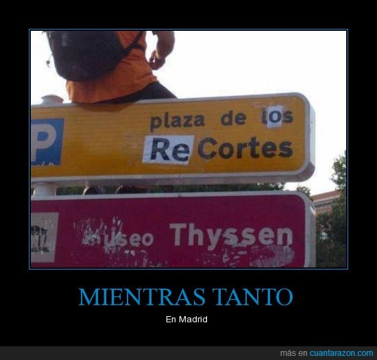crisis,España,nombre,plaza,Rajoy,recortes,renombrar