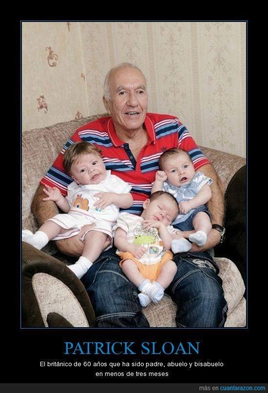 abuelo,bisabuelo,Ethan,Leonard,Mason,padre,Patrick Sloan