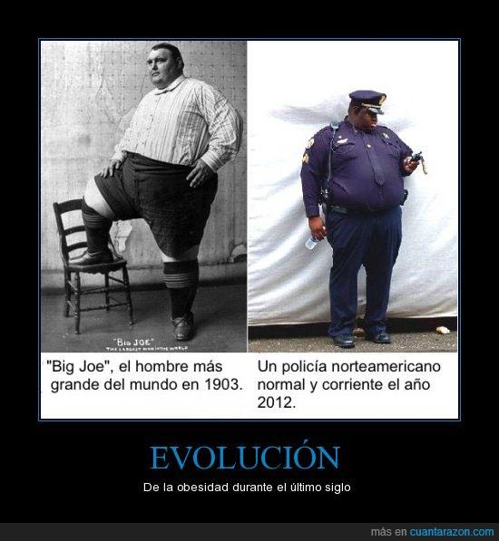 1903,americano,evolución,gordo,hombre,obesidad