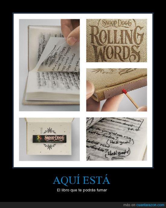 escrito,fumar,letra,lia,libro,papel,porro,snoop dogg