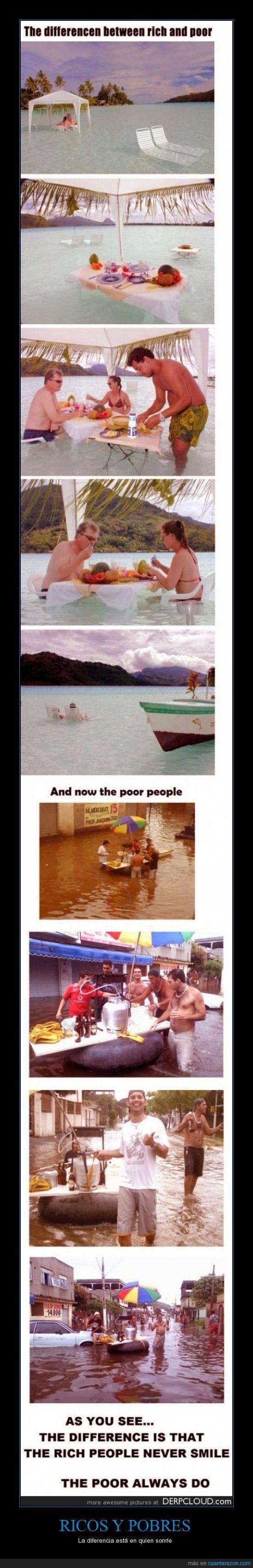 Gente,no,pobres,ricos,sonreír,sonrisa