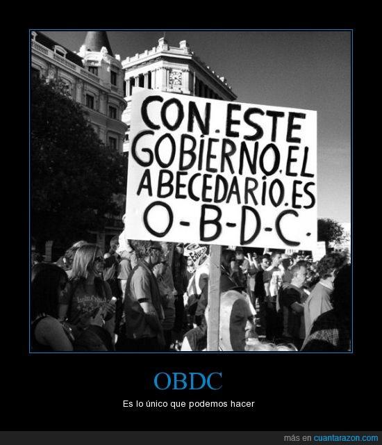 Gobierno,movilización,obdc,obedece