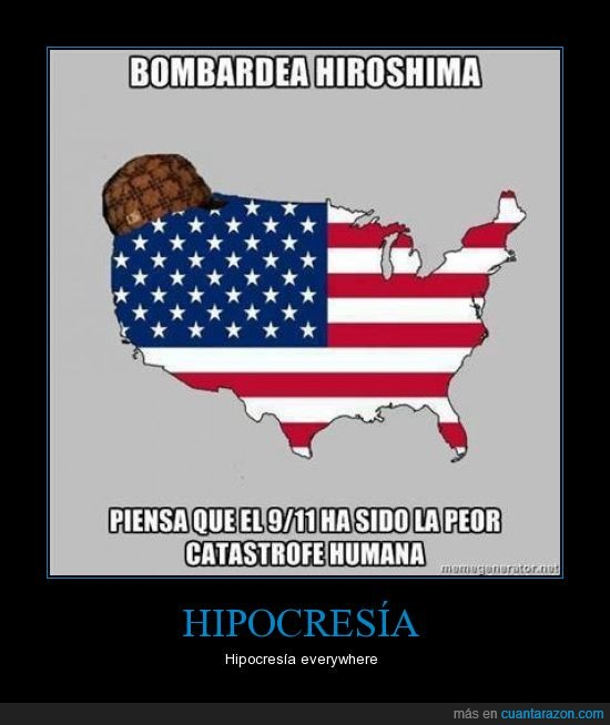11S,america,americanos,catastrofe,estados unidos,hiroshima,peor,scumbag,septiembre