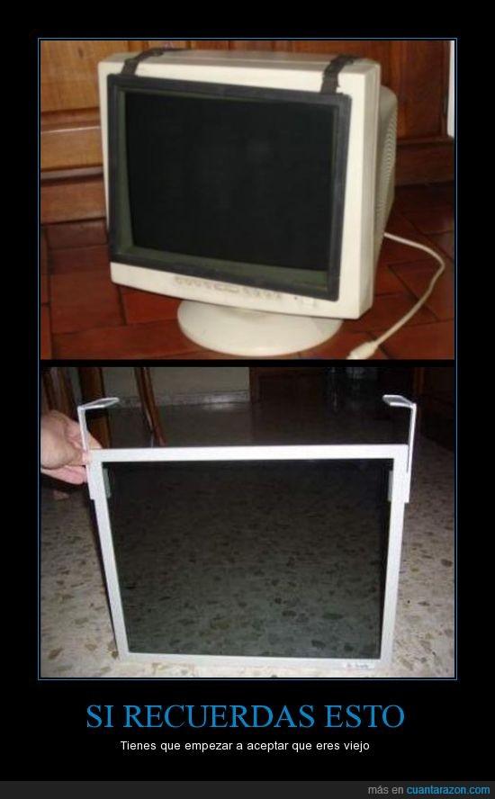 antiguo,filtro,ordenador,pantalla,protector,Recordar,viejo
