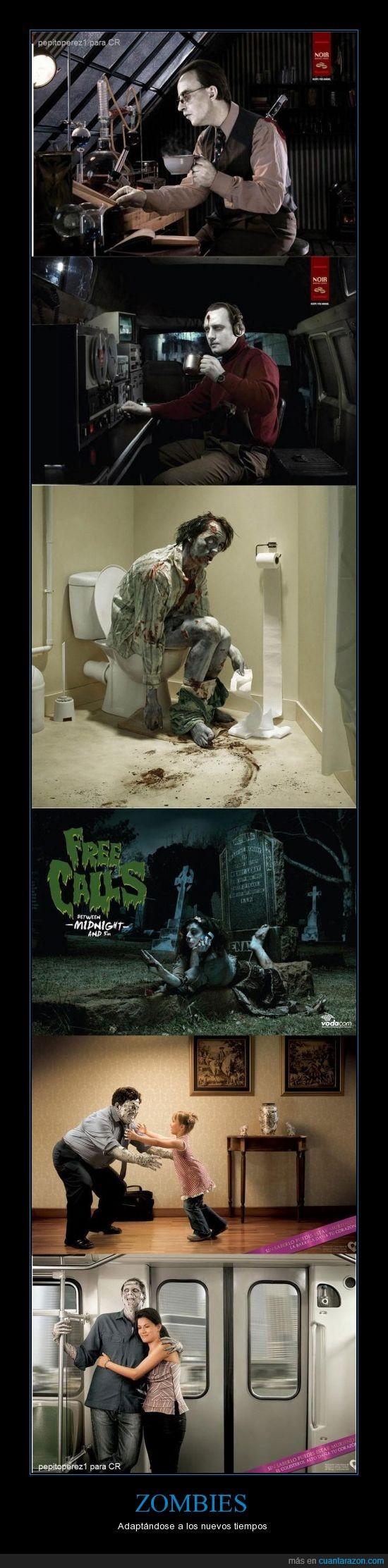 cerebros,muerte,no se me ocurre mas nada,se aburrieron de vagar y comer cerebros,vida,vida social,zombies
