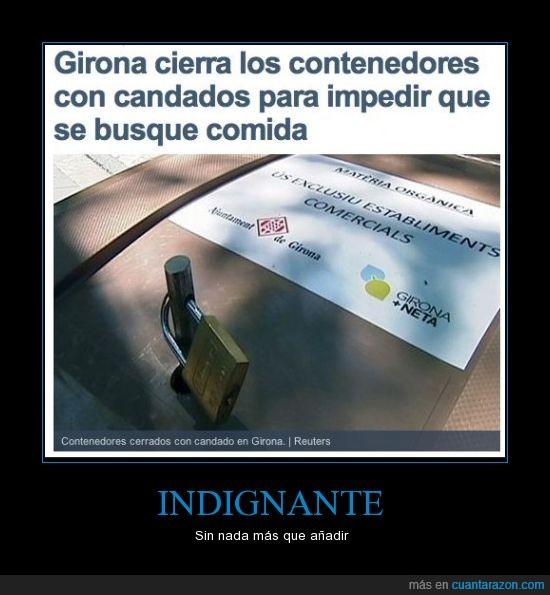 basura,Cataluña,Crisis,España,Girona,indingante