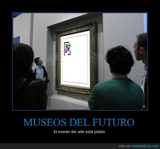 404,eso es arte,fail,imagen,imagen rota,museo