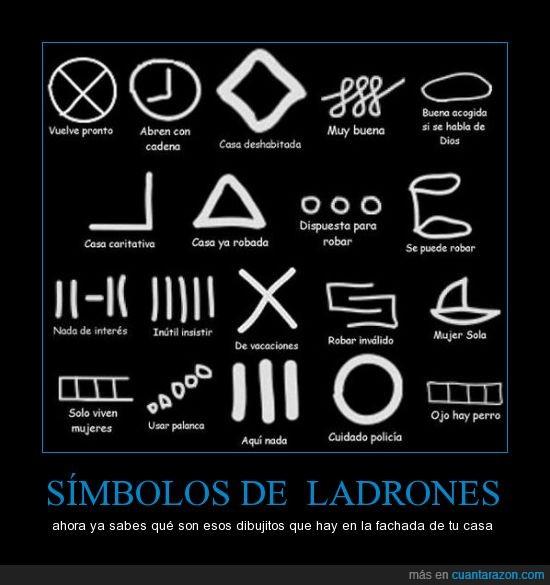 dibujos,interesante,ladrones,simbología