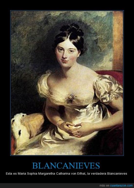 blancanieves,catharina von Esthal,maria sophia margaretha,real,verdad