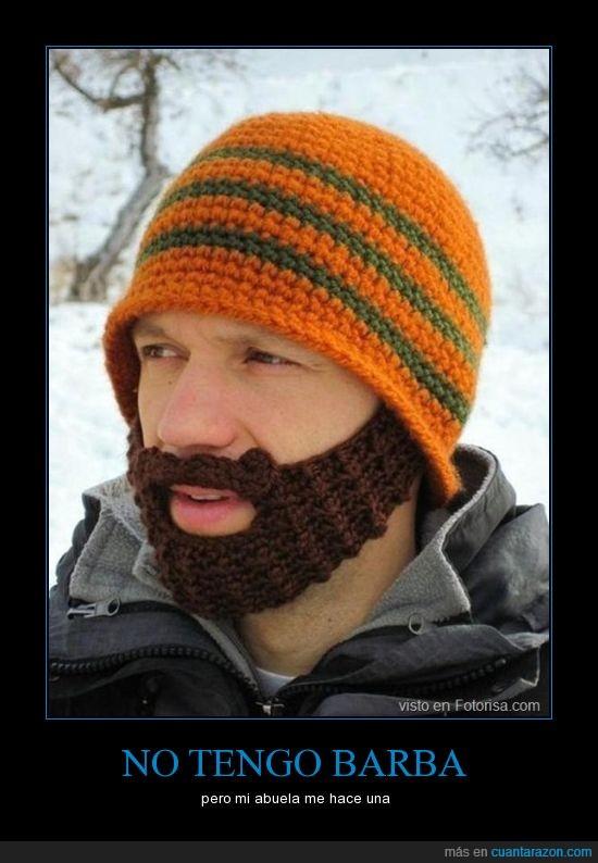 abuela,barba,frio,gorro,lana,nieve