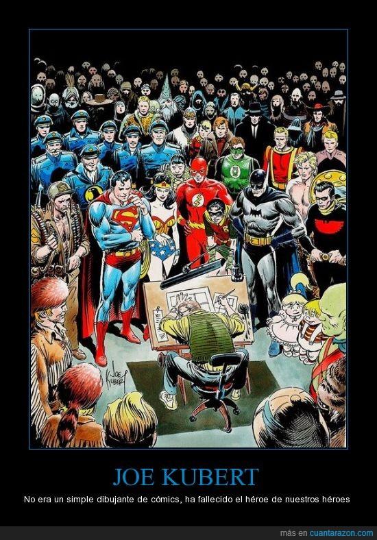 Comics,Joe Kubert,Muerte