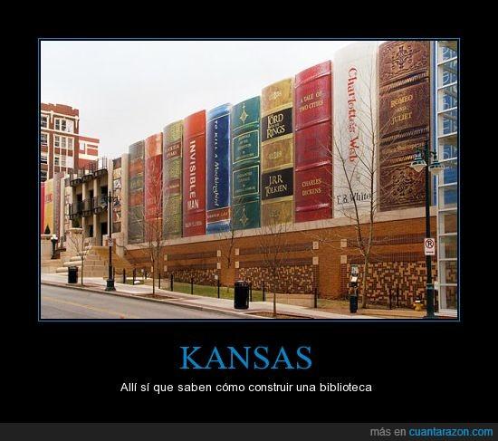 Biblioteca,construcció,EE.UU,El Señor de los Anillos,Estados Unidos,Kansas,Tolkien
