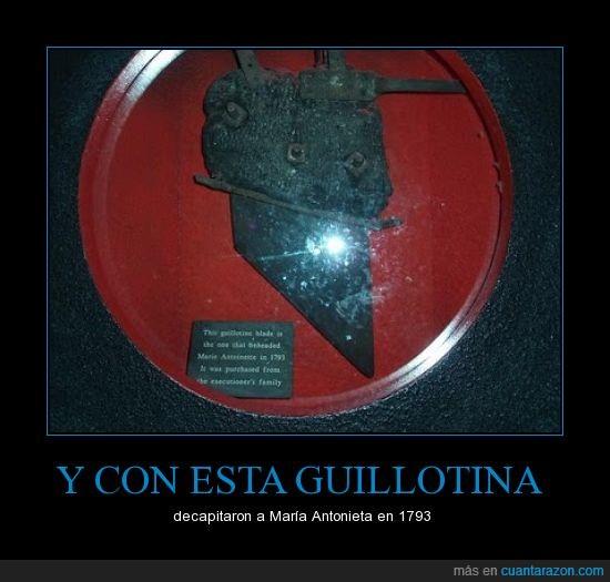 cabeza,corta,francia,guillotina,maria antonieta,revolucion