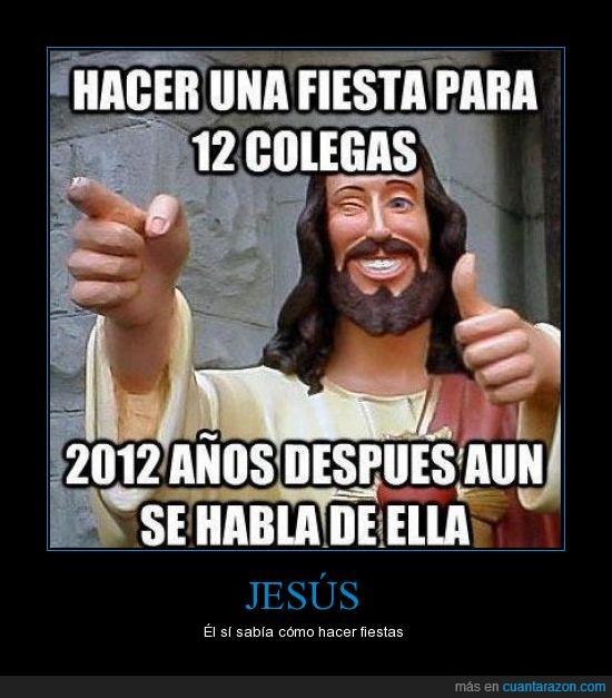años,apostol,cena,despues,en realidad son 1979 años,fiesta,jesus,ultima