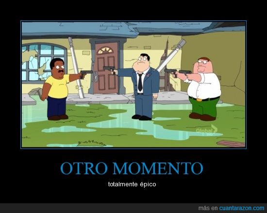 american dad,cleveland,el show de cleveland,family guy,padre de familia,padre made in usa,peter,stan,the cleveland show