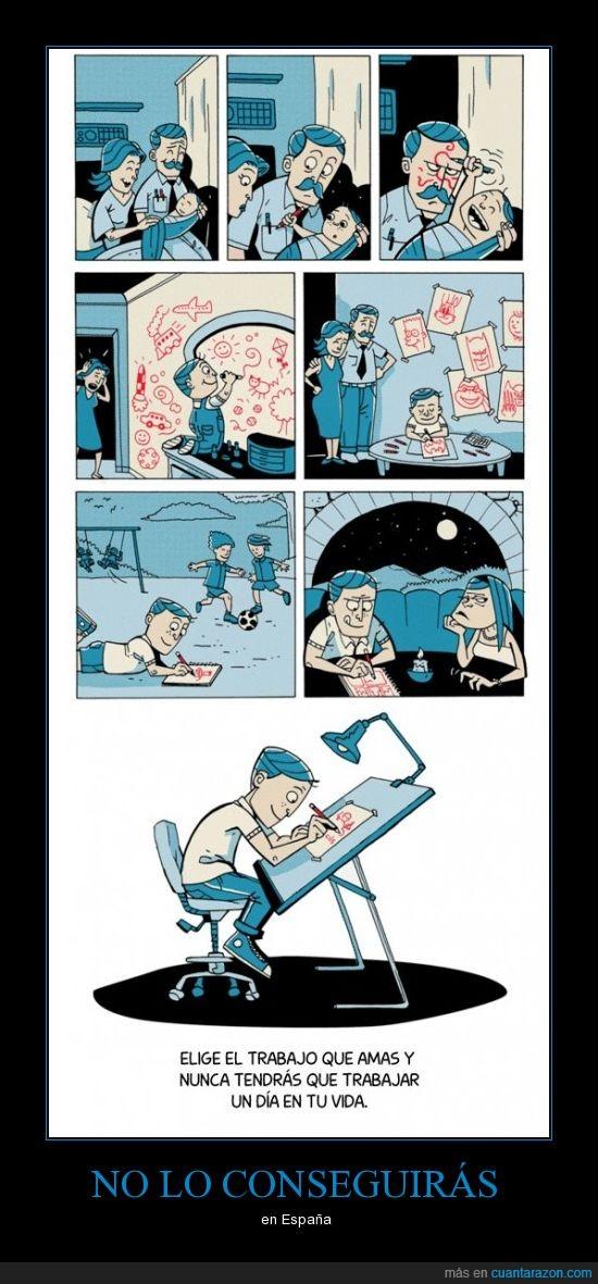 amas,dia,dibujante,elige,españa,nunca,trabajo,vida