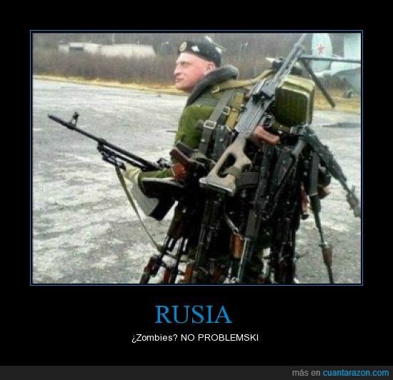 airsoft,arma,pistola,rigle,Rusia,ruso,spetsnaz,Zombies