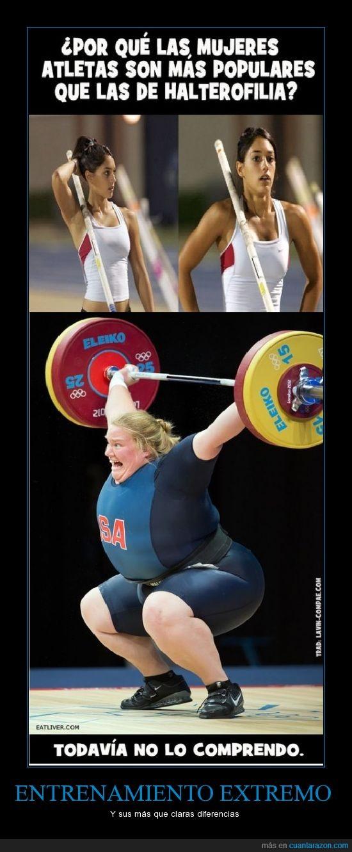 atletas,buena,fea,gorda,halterofilia,pesas,peso,tias