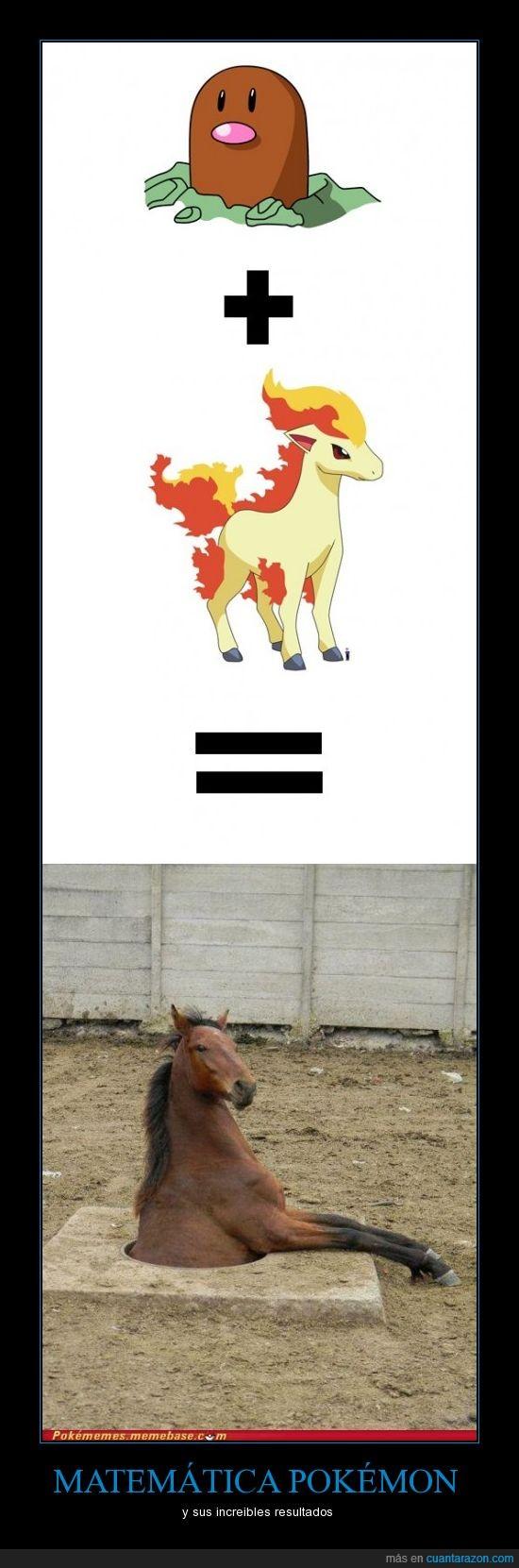 matemáticas,pokémon