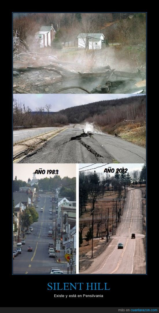 bajo,carbon,centralia,eeuu,fuego,mina,pensilvania,silent hill