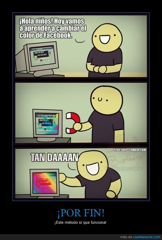 arcoiris,color,comic,estropear,iman,joder,magnetico,pantalla