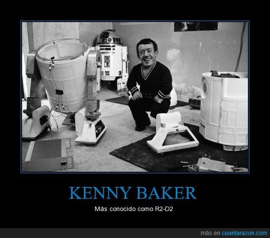Kenny Baker,R2-D2,Star Wars