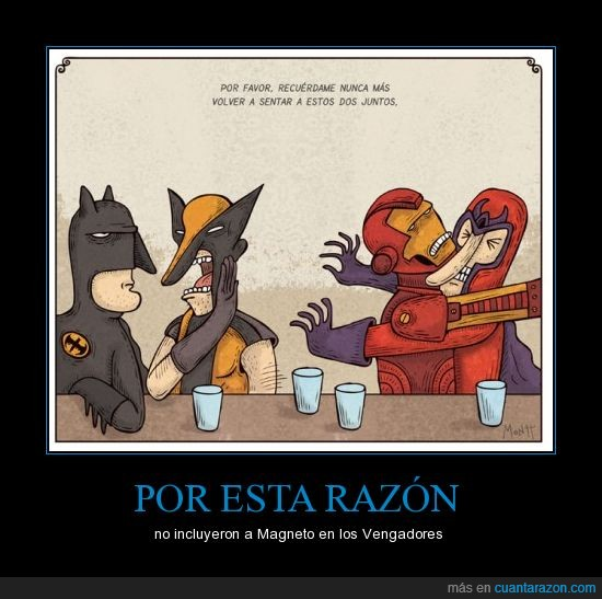 batman,comic,iman,ironman,lobezno,los vengadores,magneto,metal