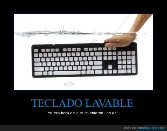 invento,original,teclado.lavar