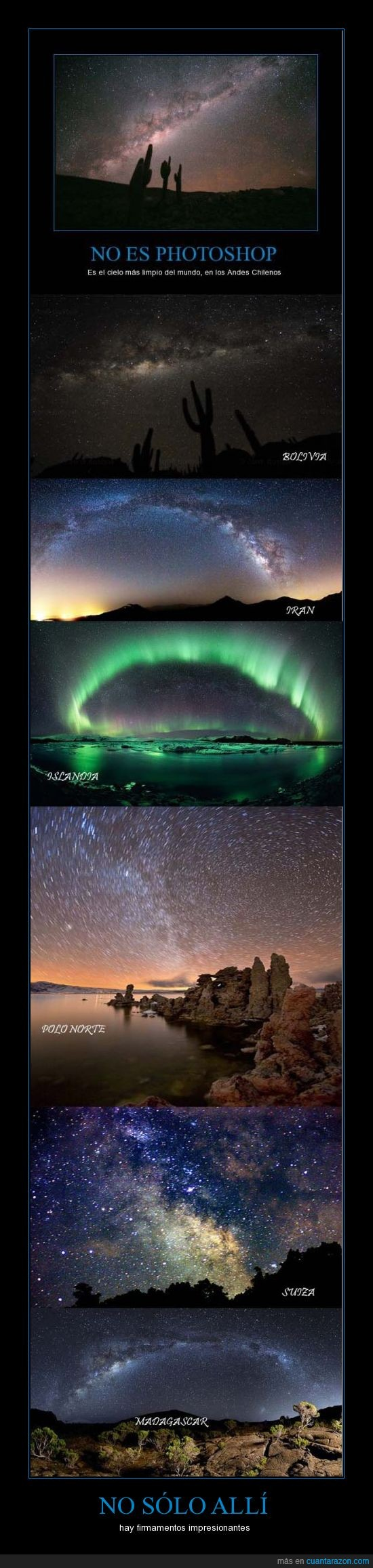 bolivia,del mundo,firmamentos,hermosos,iran,islandia,madagascar,photoshop,polo norte,suiza