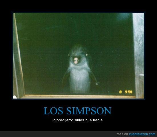 delfin,futuro,simpson,snorky habla hombre,ventana