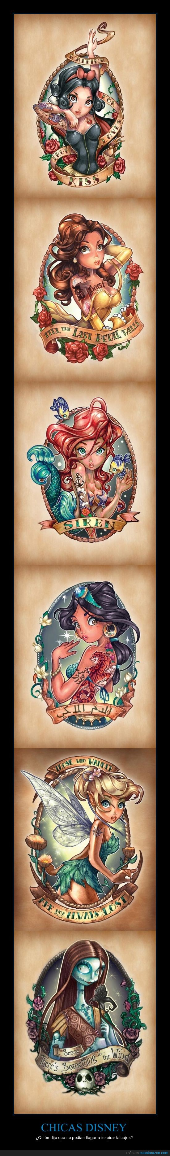 Cuánta Razón Chicas Disney