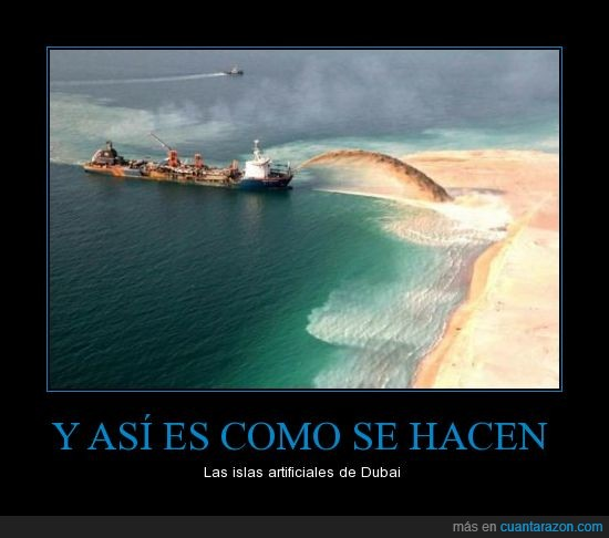 arena,artificiales,asi,barco,dubai,hacen,how it's made?,islas