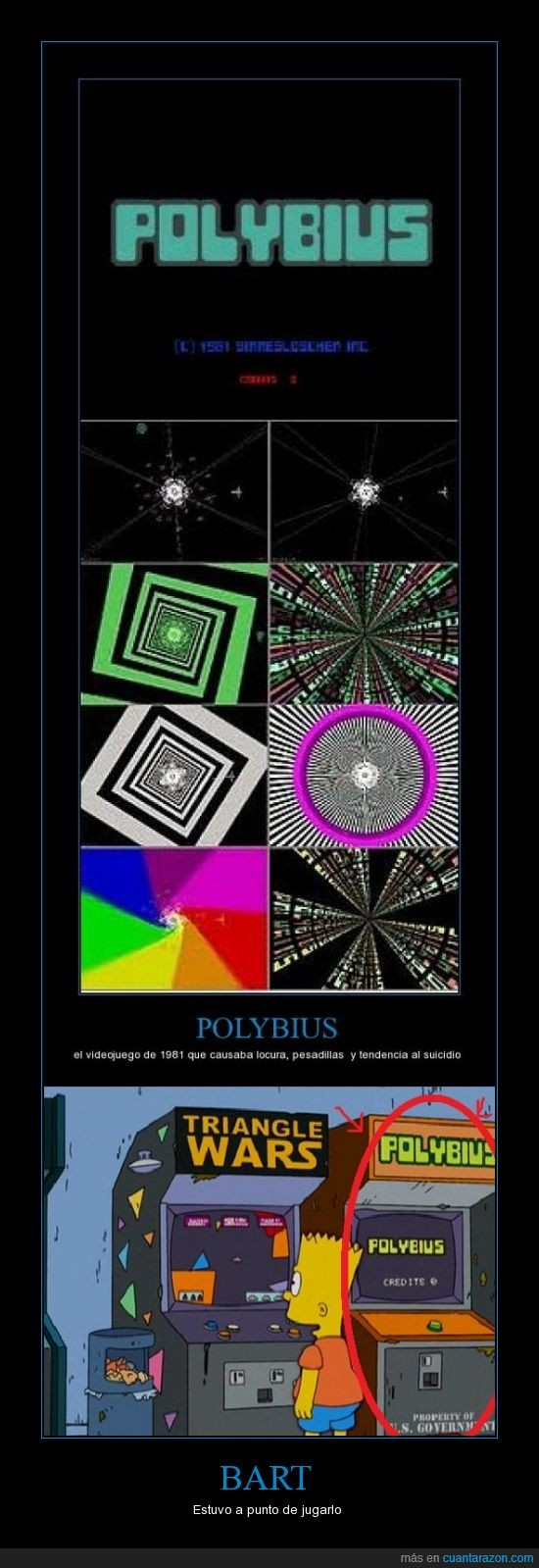 bart,jugar,polybius,simpsons,videojuego