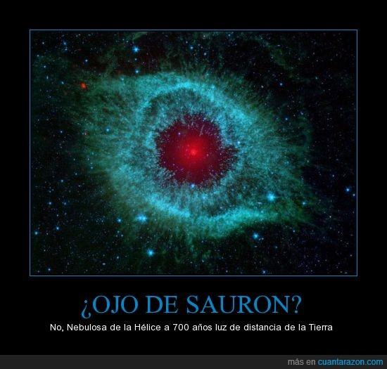 espacio,nebulosa,ojo,realidad supera la ficción,sauron