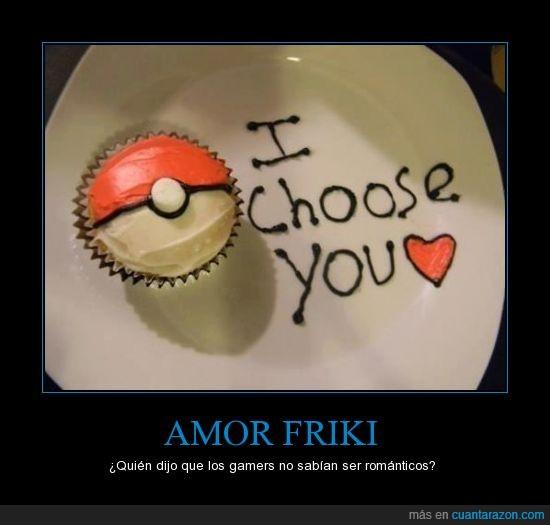 amor,cupcake,friki,i choose you,pokeball,pokemon