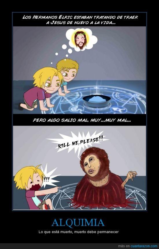 ecce homo,Fullmetal Alchemist,jesus