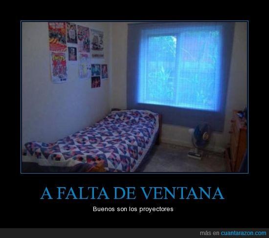 fail,habitacion,proyector,ventana