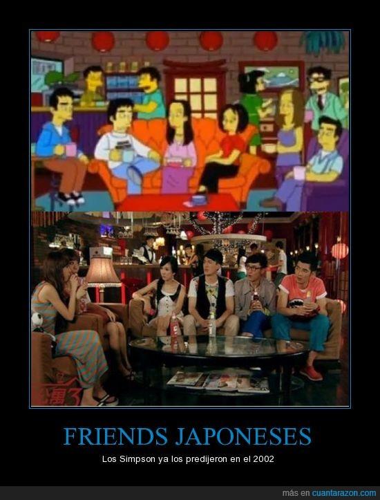 Friends,japones,Simpson,version
