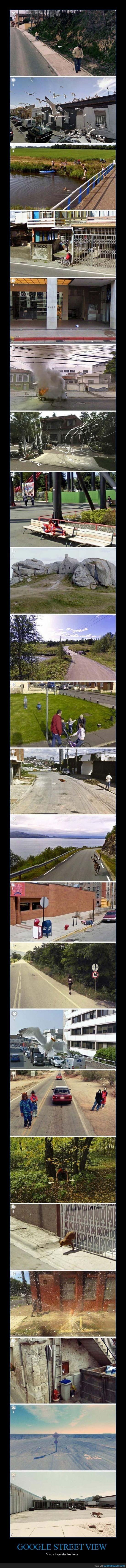fotos,google street view,imágenes,inquietantes,raras,WTF?!