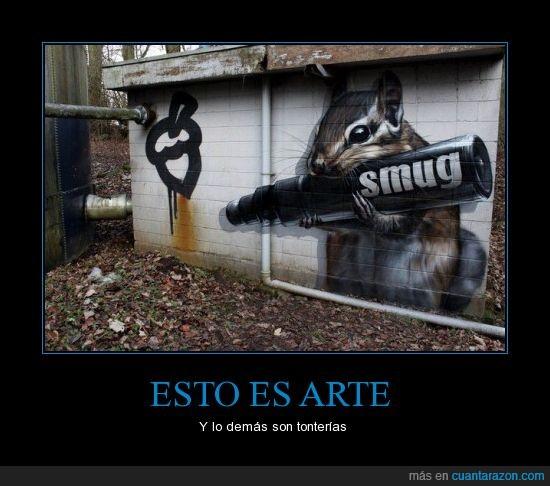 ardilla,arte,bellota,rotulador grafiti