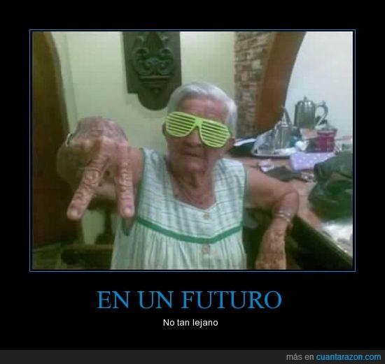 abuela,cani,choni,con tol flow,gafas,mayor,que maja,señora,yaya,yeah