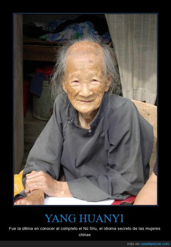 china,idioma secreto,mujeres,Nü Shu,yang huanyi