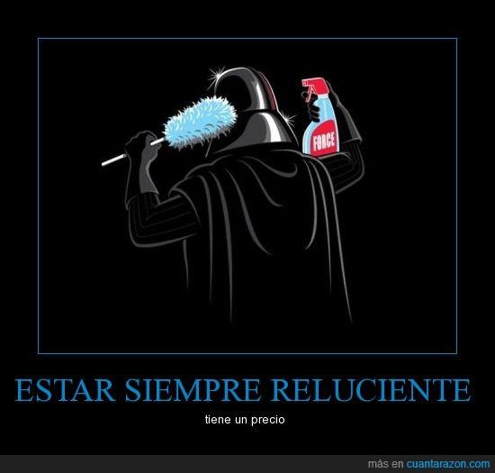 casco,darth vader,fuerza,limpiar,star wars