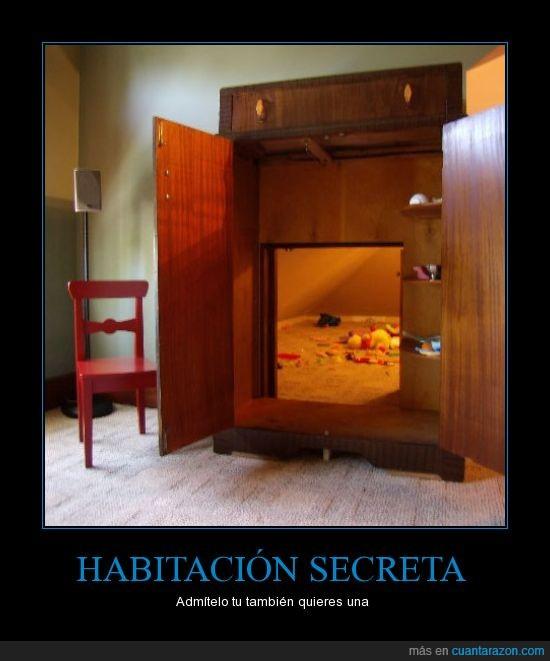 Armario,habitación secreta